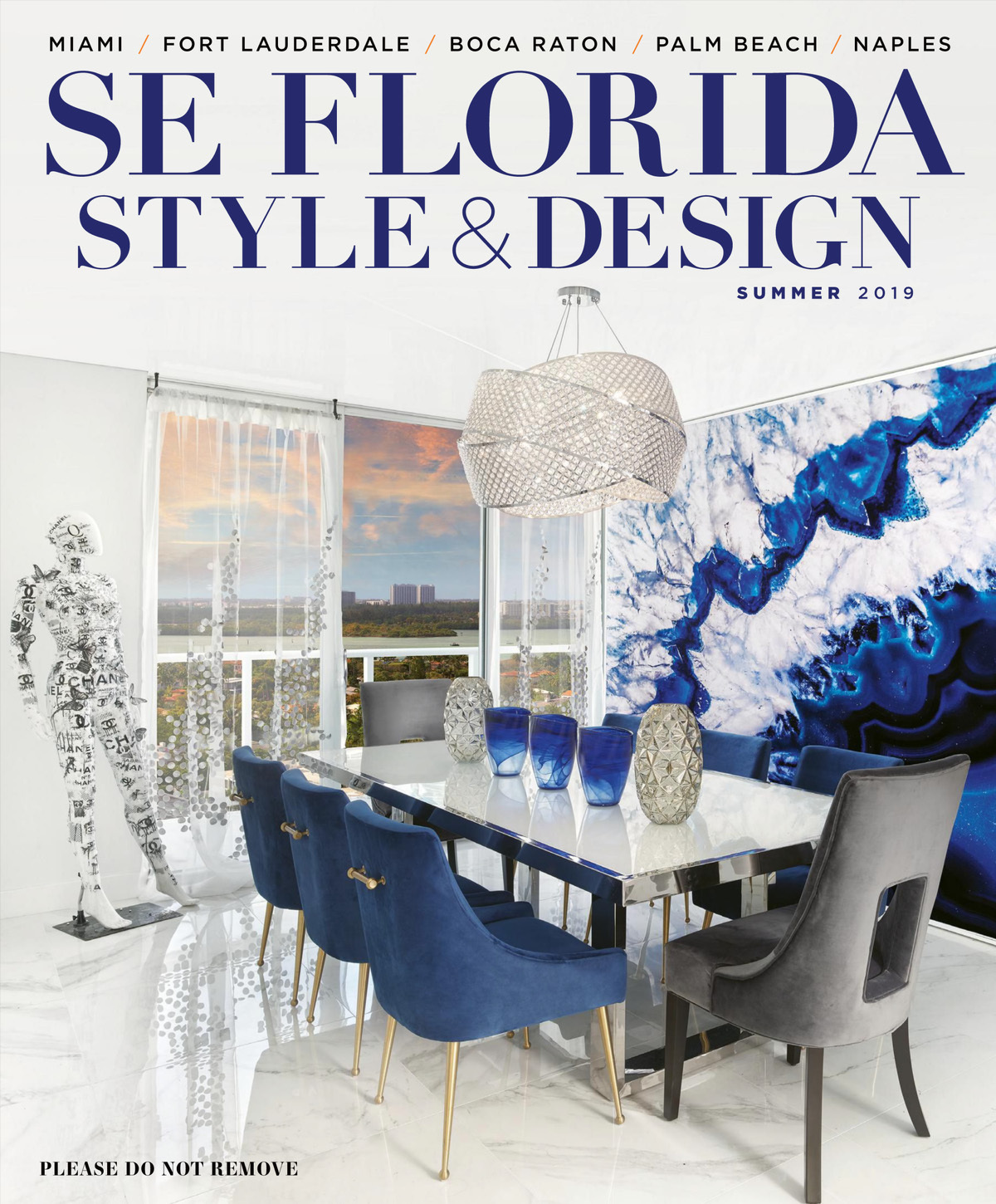 SE Florida Style & Design Magazine Cover Summer 2019